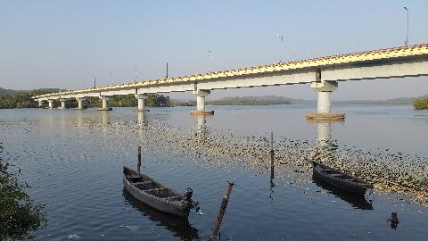 Goa Siolim Bridge