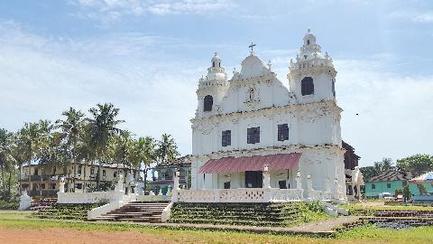 Maina Curtorim Church Goa
