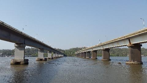 Goa Mandovi Bridge